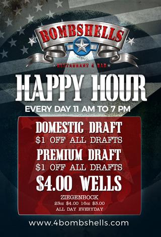Happy Hour 11-7