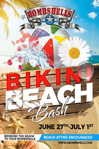 Bombshells Bikini Beach Bash