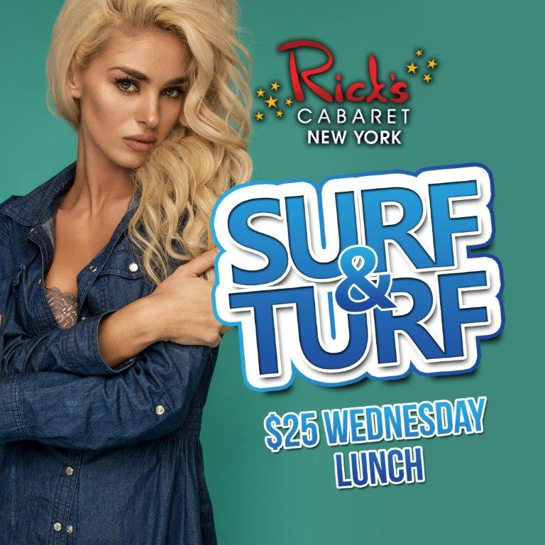Surf & Turf Wednesdays
