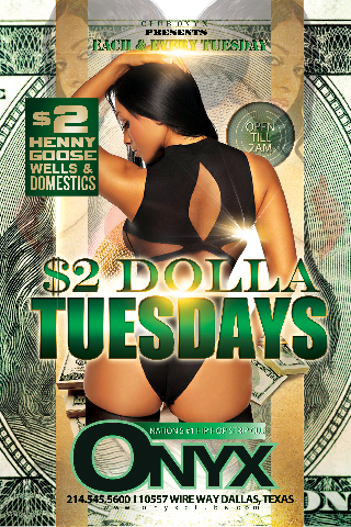Graphic for $2 Tuesdays