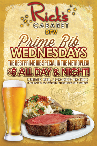 Wednesdays - Prime Rib