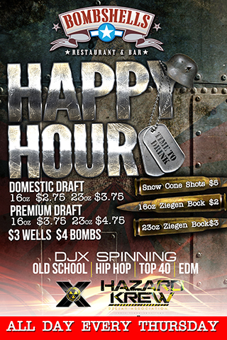 Graphic for Drink Specials