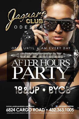 Graphic for After Hours Party