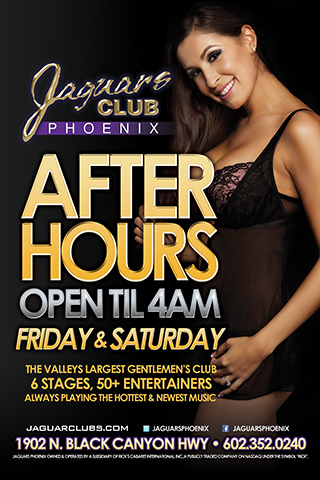 Friday - After Hours Party - After Hours Party - Open until 4 AM