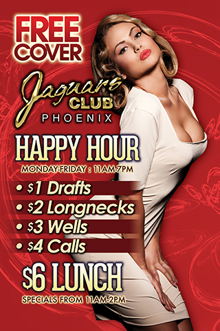 Graphic for Daytime Specials and Happy Hour
