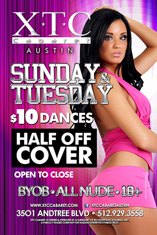 Event - Tuesday-Lap-Dance-Specials - Every Tuesday
