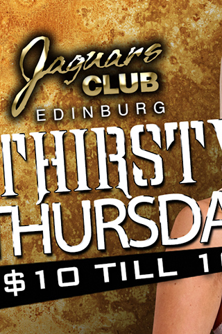 Graphic for Thirsty Thursdays
