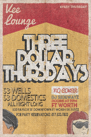 Three Dollar Thursdays