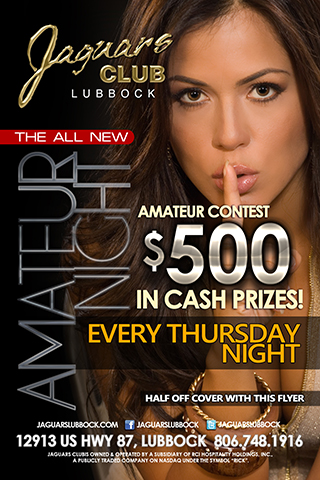 Amateur Night - ALL LADIES 18 AND OVER NO COVER CHARGE AND $250 AMATEUR CONTEST