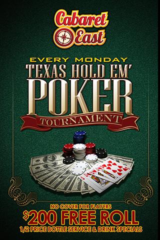 Texas Hold' Em Poker Tournament