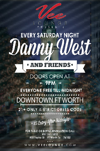 Saturday Nights with Danny West and Friends