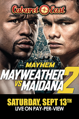 Mayhem Mayweather vs Maidana 2