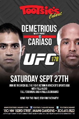 UFC 178 DEMETRIOUS