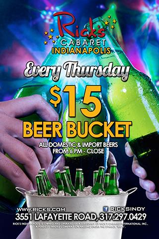 $15 Beer Bucket Thursdays