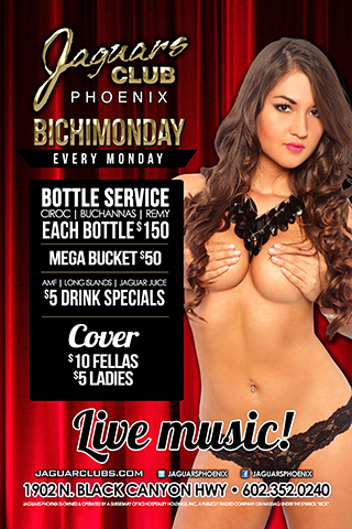 Latin Mondays - the party continues on Monday nights at Jaguars with