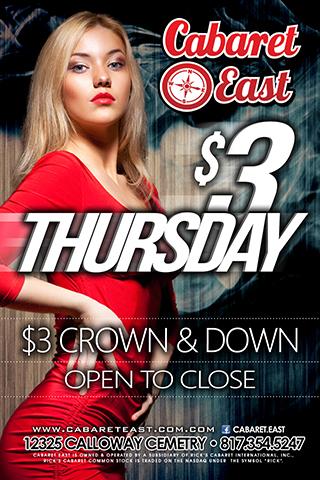 $3 Thursday