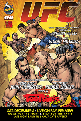 UFC 181 - HENDRICKS VS LAWLER: Featured DECEMBER 6 at Tootsie's Cabaret