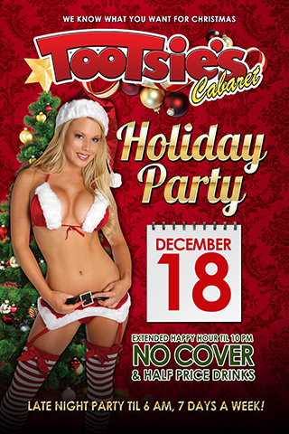 Tootsie's Cabaret Holiday Party - Tootsie's Cabaret Holiday Party