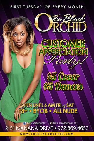 Super Tuesday - Super Tuesday Feb 3,2015 Mardi Gras at The Black Orchid $5.00 Cover $5.00 Dances All night on the main floor. Free Crawfish Boil Buffett. Get your Beeds ready. Dont Forget we always have your Favorite KY jelly Wrestling that night.