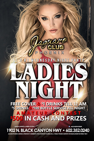 Graphic for Ladies Night