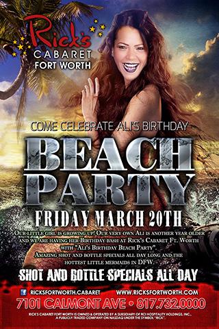 Ali's Birthday Beach Party