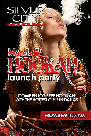 Hookah Launch Party
