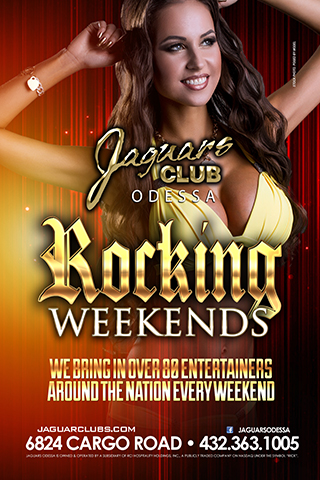 Graphic for JAGUARS ROCKING WEEKENDS