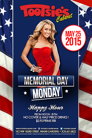 Memorial Day Party - Join us for our annual Memorial Day Party