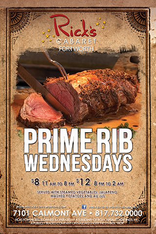Prime Rib Wednesdays