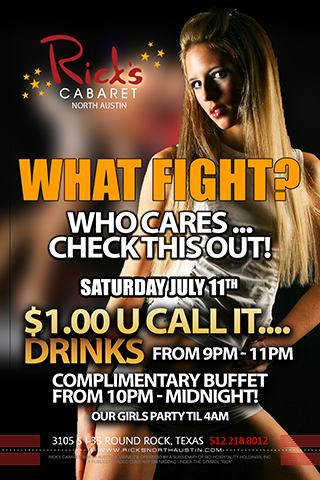 $1 U Call Its 9-11pm Free Buffet 10 til Midnight Similar to June 13th event