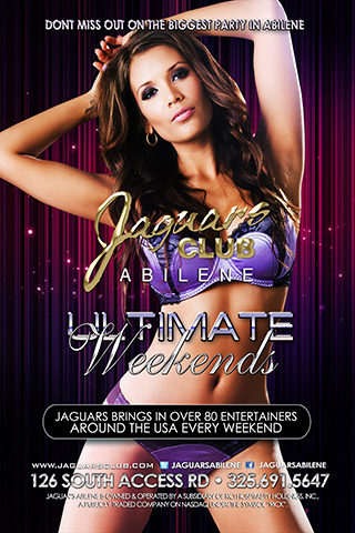 ultimate weekends - Every weekend Jaguars Lubbock brings in entertainers from all over the USA to give everyone the experience of a life time