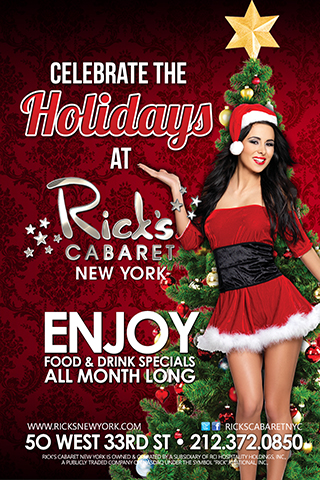 Holiday Party at Rick's Cabaret - Celebrate the Holidays with Rick's Cabaret.