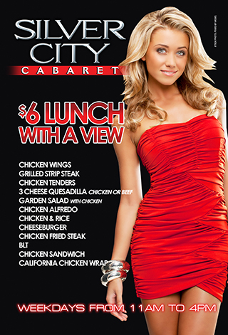 $6 Lunch weekdays till 4pm