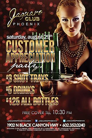Jaguars Phoenix - Customer Appreciation Party