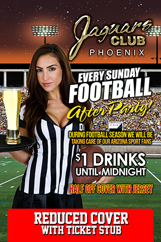 Game Day After Party - SIN Sunday is only going to get better this football season as we take care of all of our Arizona sports fans.