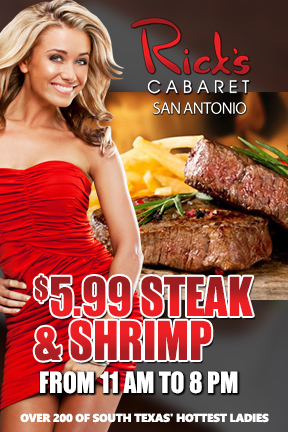 $5.99 STEAK & SHRIMP