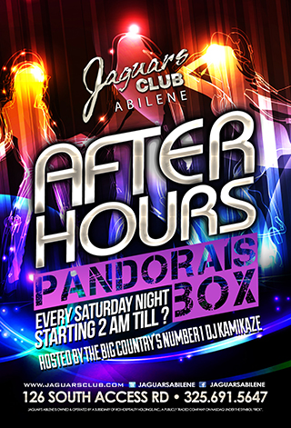 PANDORAS BOX - Pandora s box after hours party  the number 1 after hours party is finally here  hosted by the big country's  number 1 DJ Kamikaze starting at 2am till ? every Saturday night