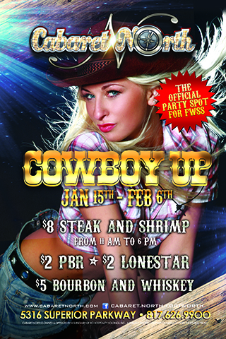 Special Promotions for The Fort Worth rodeo and stockshow I want to run this event for the time its intown  Jan 15-Feb6