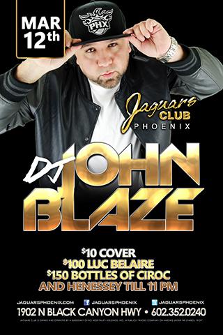 Jaguars Phoenix - Dj John Blaze Release Party