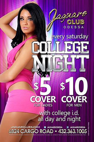college night - college nights every Saturday night  all boys halve off cover all girls $5 cover all day all night