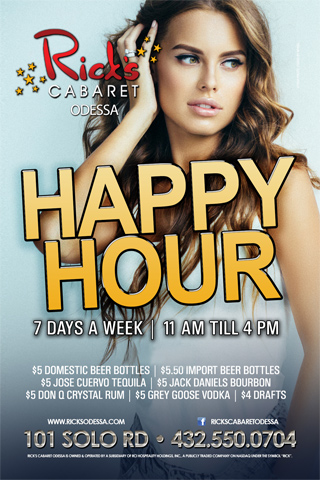 Happy Hour - Happy Hour 11am-8pm 7 days a week, $4.25 Crown & Down