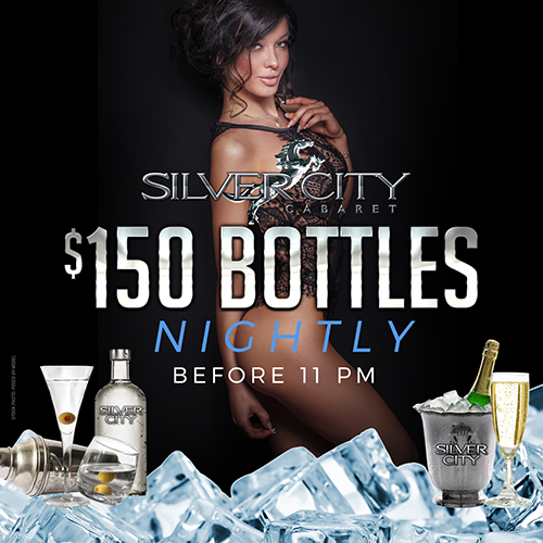$150 Weekend Bottle Special