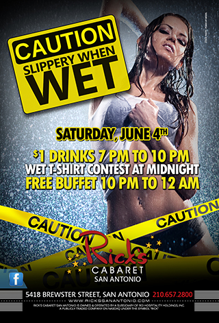 Slippery When Wet T-shirt Contest
