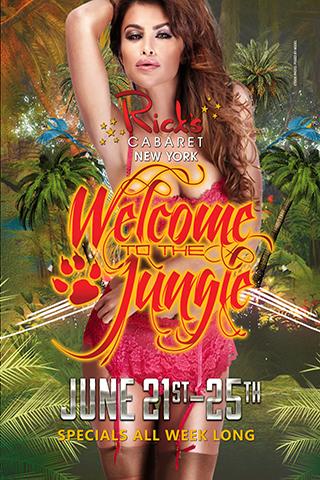Welcome To The Jungle - Welcome To The Jungle Tuesday 6/21/16 - Saturday 6/25/16 Specials All Week Long