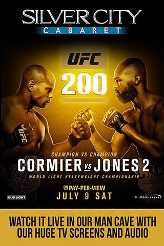 UFC 200 Cormier vs. Jones 2 Watching Party