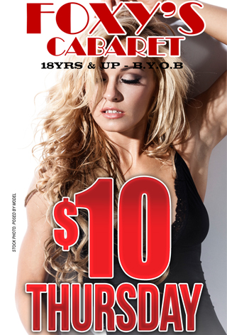 $10 Thursdays - THURSDAY