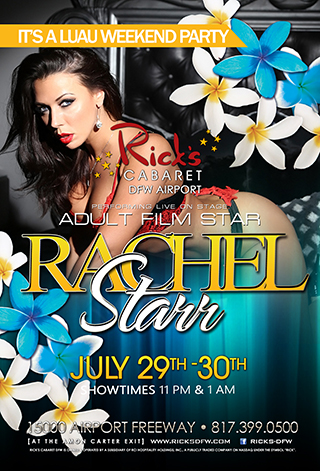 Feature entertainer Rachel Starr