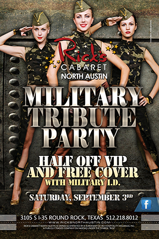 Military Tribute Party
