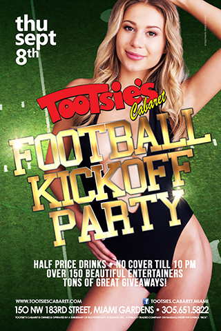 Football Kickoff Party - Thursday, September 8th 