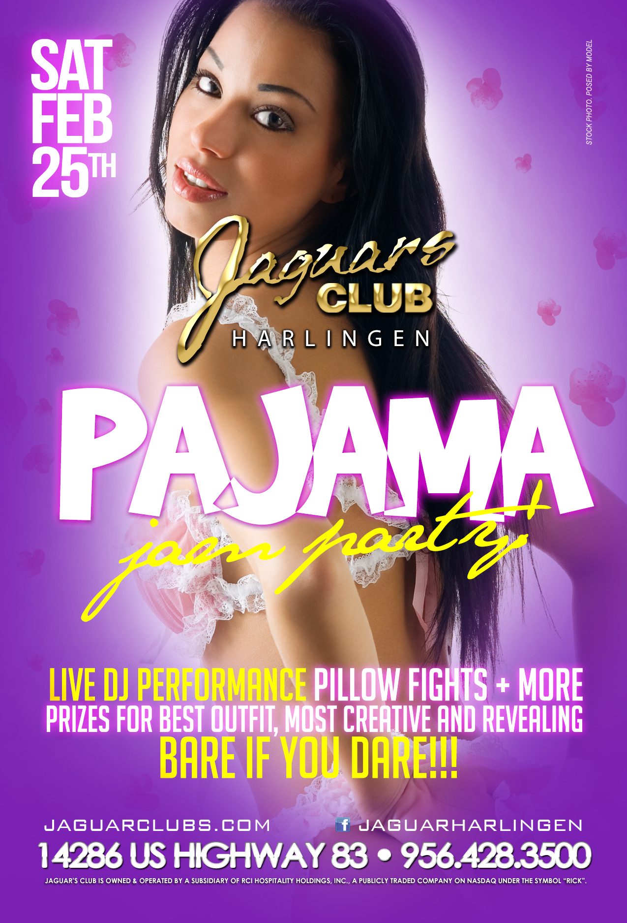 Pajama Jam Party - Jaguars Club Harlingen Presents: Pajama Jam Party!